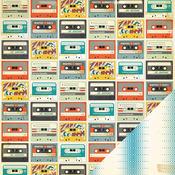 Mixtape Paper - Boys Rule - Crate Paper
