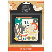 Boys Rule Ephemera Pack - Crate Paper