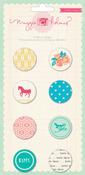 Styleboard Flair Adhesive Badges - Maggie Holmes