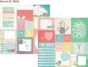 Fresh Air Elements #2 Paper - Simple Sets - Simple Stories