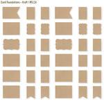 Kraft Card Foundations - DIY - Simple Stories
