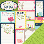 Spring Journaling Paper - Welcome Spring - Imaginisce