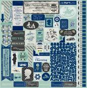 Suave Details Sticker Sheet - Authentique