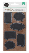 Speech Bubble Chalkboard Stickers - DIY Shop - American Crafts
