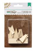 Banners Wood Veneer Shapes - DIY Shop - American Crafts