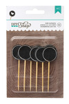 Circle Chalkboard Toothpicks - DIY Shop - American Crafts