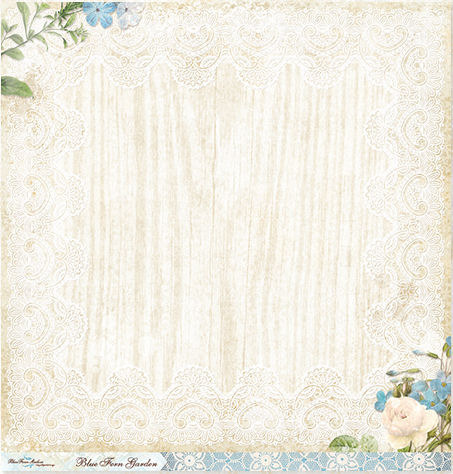 Parlour Paper - Blue Fern Garden - Blue Fern Studios
