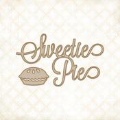 Sweetie Pie Laser Cut Chipboard - Blue Fern Studios