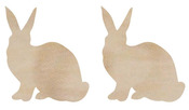 Rabbits Wood Flourishes - KaiserCraft
