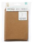 Cardstock Kraft Cards & Kraft A7 Envelopes - DIY Shop - American Crafts