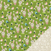 Hop To It Paper - Welcome Spring - Imaginisce