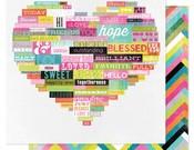 Wordy Paper - Favorite Things - Heidi Swapp