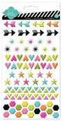 Favorite Things Puffy Gloss Shape Stickers - Heidi Swapp