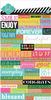 Favorite Things Word Jumble Stickers - Heidi Swapp