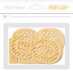 Wanderlust Large Bold Wood Veneer Numbers - Studio Calico