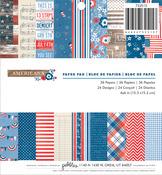 Americana 6 x 6 Paper Pad - Pebbles