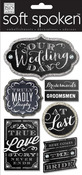 Our Wedding Day Chalk Stickers - Me And My Big Ideas
