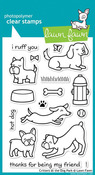 Critters At The Dog Park Clear Stamps - Lawn Fawn