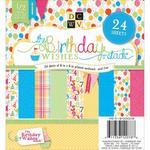Birthday Wishes 6 x 6 Stack Pack - Die Cuts With A View
