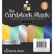 The Foiled 6 x 6 Cardstock Stack - Die Cuts With A View