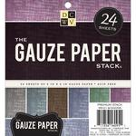 The Gauze 6 x 6 Paper Stack - Die Cuts With A View