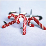 Candy Cane Brads - Eyelet Outlet