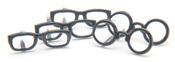 Black Glasses Brads - Eyelet Outlet