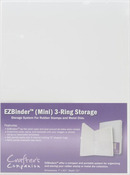 EZ Binder Mini 3 Ring Storage Binder - Crafter's Companion