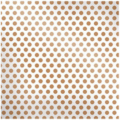 Copper Dot Sheer Paper - Sheer Metallic - We R Memory Keepers