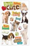 Dog Gone Cute 3D Stickers - Paper House