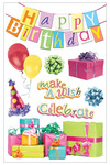 Happy Birthday 3D Stickers - Paper House