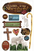 Lord Is My Shepherd 3D Stickers - Paper House