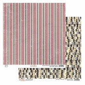 Spiffy Stripe Paper - All Dolled Up - Glitz
