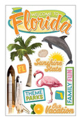 Florida 3D Stickers - Paper House