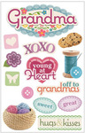 Grandma 3D Stickers - Paper House Productions