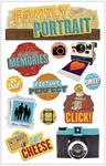 Family Portrait 3D Stickers - Paper House Productions