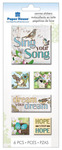 Sing Your Song Canvas Stickers - Paper House