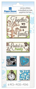 Family Canvas Stickers - Paper House