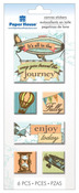 Journey Canvas Stickers - Paper House