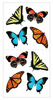 Butterflies Sticky Pix Stickers - Paper House
