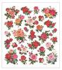 Classic Rose Glittered Multi Color Stickers