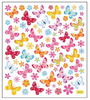 Butterflies & Flowers Stickers