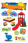 Playground 3D Stickers - Paper House