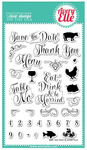 Save The Date Clear Stamps - Avery Elle