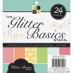 Glitter Basics 6 x 6 Cardstock Stack - Die Cuts With A View