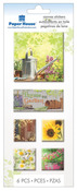 Garden Canvas Stickers - Paper House