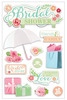 Bridal Shower 3D Stickers - Paper House