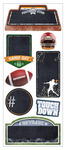 Football Chalkboard Stickers - Paper House