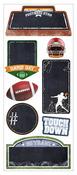 Football Chalkboard Stickers - Paper House