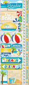 Paradise Beach Stickers - Reminisce